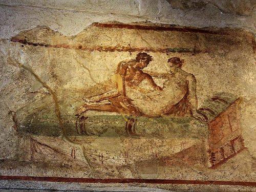 Il lupanare ~ L'eros nell'antica Pompei