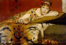 Aprèslude, poesia di Gottfried Benn. Dipinto di Alma Tadema