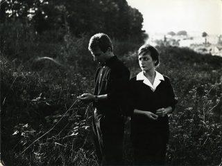 Foto di Mario Giacomelli, Un uomo, una donna, un amore, 1960 – 61