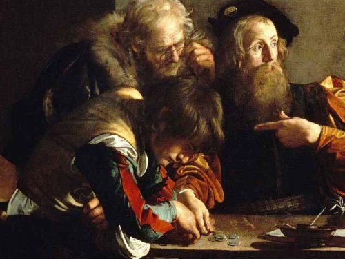 Antonio Tabucchi, il sogno di Caravaggio