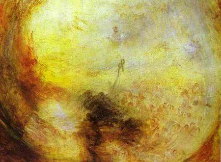 """""""Luce e colore"""" (la teoria di Goethe) – """"Il mattino dopo il Diluvio"""" di William Turner"""
