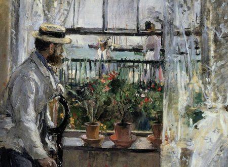 Berthe Morisot – Eugène Manet all'isola di Wight (1875)