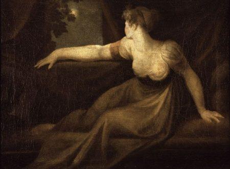 Johann Heinrich Füssli – Signora alla finestra al chiaro di luna (1800-1810)