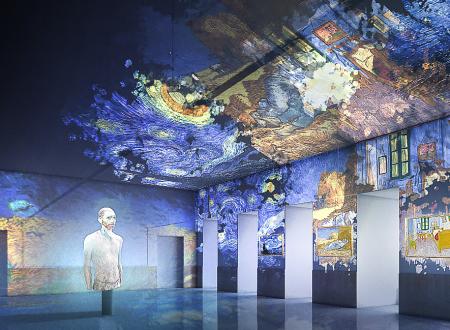 "A Napoli la mostra multimediale ""Van Gogh – The Immersive Experience"""