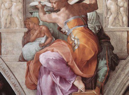 """Sibilla Libica"" ~ Michelangelo Buonarroti"