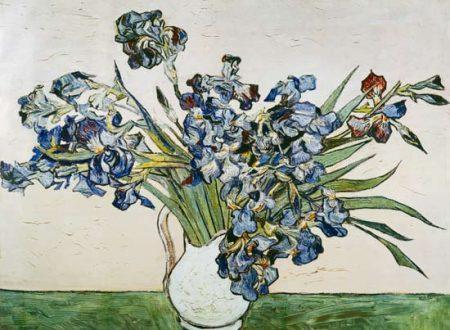 """""""Vaso con iris"""" ~ Vincent Van Gogh"""
