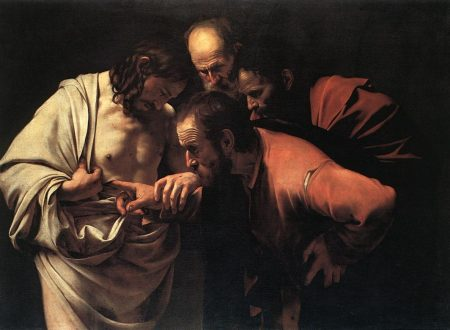 Incredulità di san Tommaso  ~ Michelangelo Merisi da Caravaggio