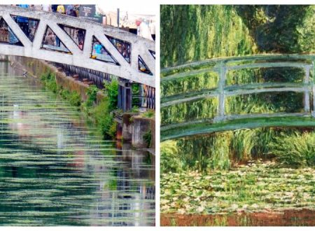 A Milano i Navigli come 'Il ponte giapponese' di Monet: l'effetto alga è quasi artistico