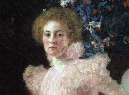 """Ritratto di Sonja Knips"" di  Gustav Klimt, 1898"