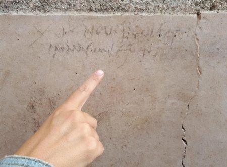 Un'iscrizione a Pompei riscrive la storia dell'eruzione