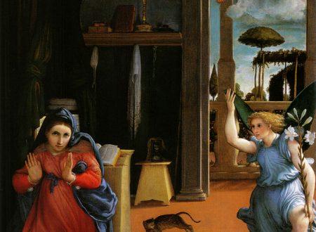 """""""Annunciazione di Recanati"""" di Lorenzo Lotto"""