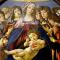 Madonna col Bambino e sei angeli (Madonna della melagrana) di Botticelli