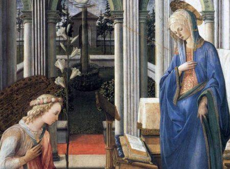 """""""Annunciazione delle Murate"""" di Filippo Lippi"""