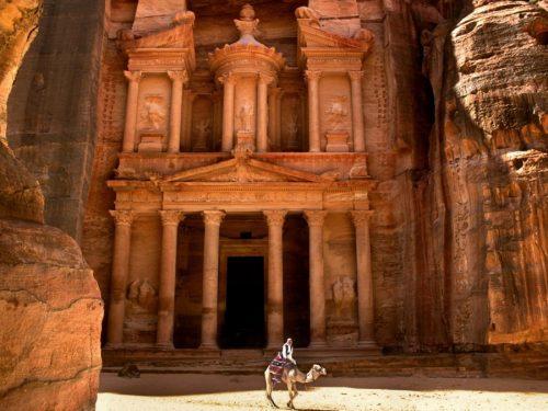 Petra, Giordania: la città rosa scavata nella roccia