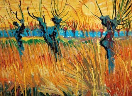 Vincent van Gogh – Salici al tramonto