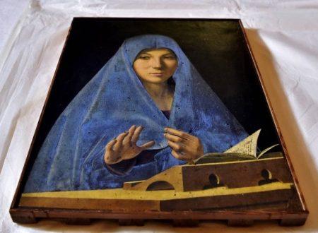 L'Annunciata di Antonello da Messina a Palazzo Reale di Milano