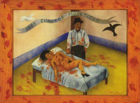 """""""Qualche piccolo colpo di pugnale"""" di Frida Kahlo"""