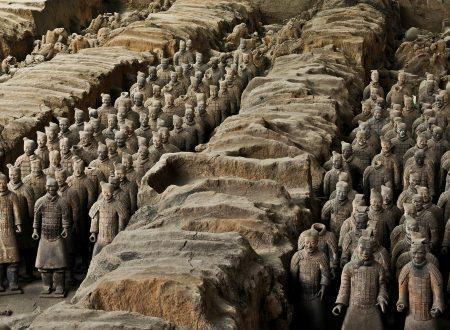 L'Esercito di terracotta (vero) alla Reggia di Caserta