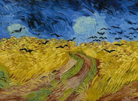 """""""Campo di grano con volo di corvi"""" di Vincent van Gogh"""