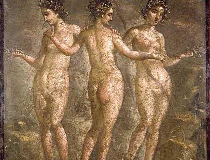 """""""Le tre Grazie"""" – Museo Archeologico, Napoli"""