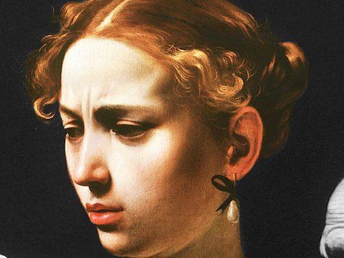Fillide Melandroni: ritratto di una cortigiana di Caravaggio