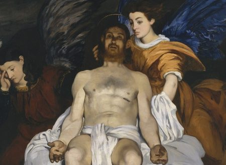 Édouard Manet – Cristo morto e due angeli