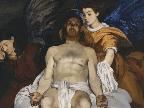 Édouard Manet – Cristo morto e due angeli