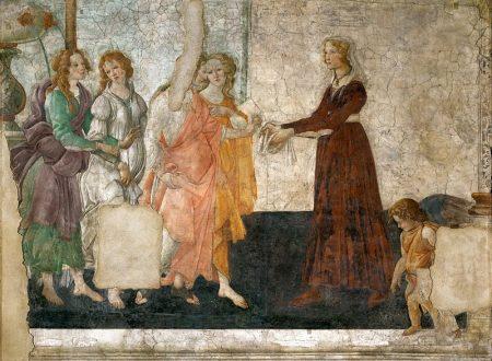 Botticelli – Venere offre doni a una giovane