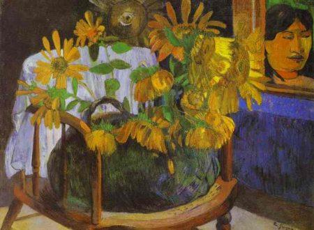 """Paul Gauguin, """"Girasoli"""", 1901. Olio su tela. Ermitage, Sanpietroburgo."""