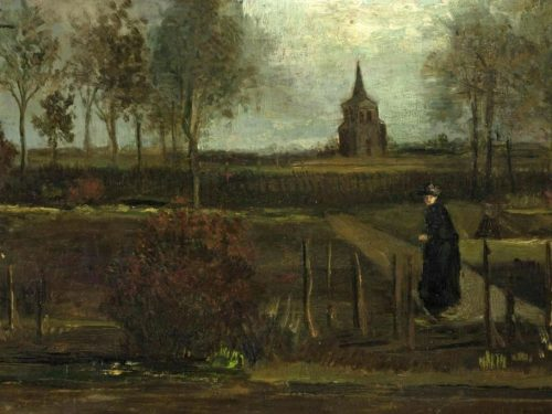 Rubato il quadro di Vincent van Gogh «Spring garden»