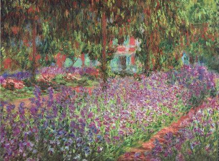 """""""Il giardino dell'artista a Giverny"""" di Claude Monet"""