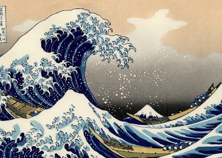 La grande onda di Kanagawa – Hokusai