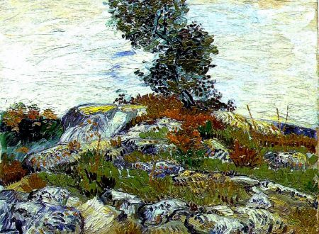 "Vincent van Gogh, ""Le rocce"" (Rocce con albero di quercia)"