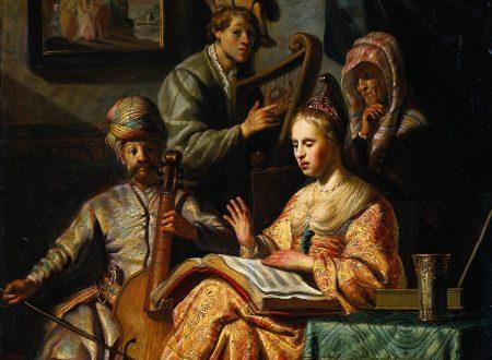 Rembrandt – Concerto di musici in costume