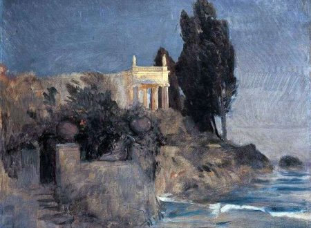 """Villa al mare"" di Arnold Böcklin"