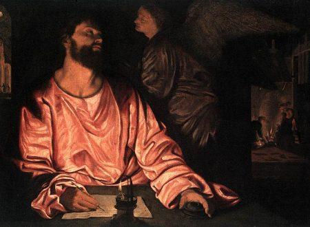 """""""San Matteo e l'angelo"""" di  Giovanni Gerolamo Savoldo"""