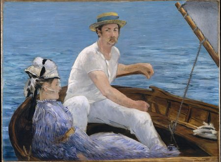 """""""In barca ad Argenteuil"""" di Édouard Manet"""