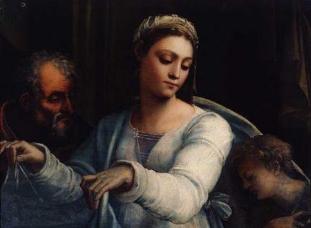 """""""Madonna del velo"""" di Sebastiano del Piombo"""