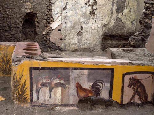 Straordinaria scoperta a Pompei, ritrovato un Termopolio intatto