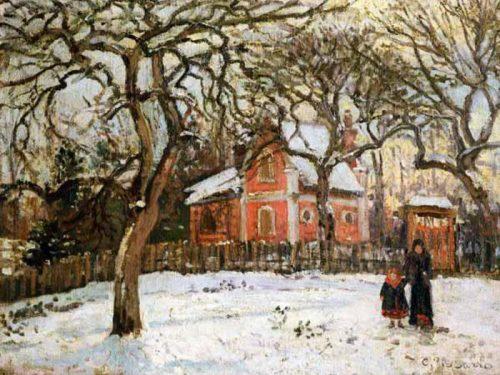 L'inverno nell'arte : Paesaggi innevati e colori freddi sulle tele di 10 grandi artisti