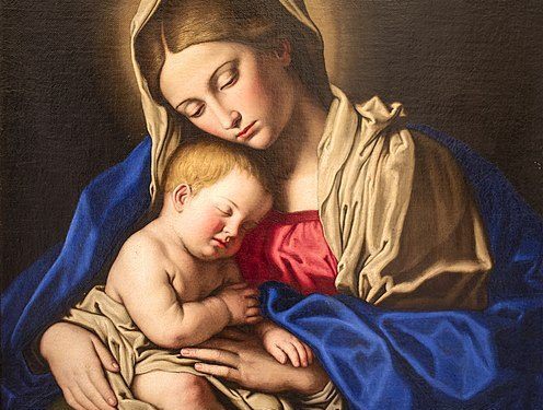Madonna col Bambino (Sassoferrato)