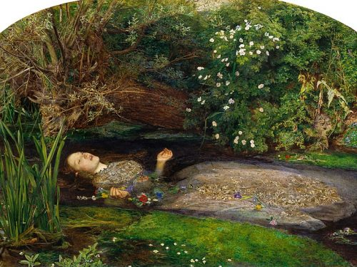 """Ophelia"" di John Everett Millais"