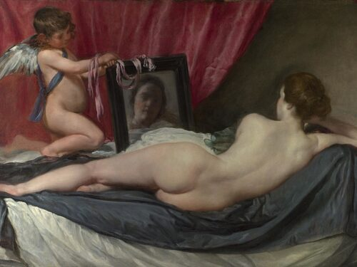 Venere e Cupido(Venere Rokeby) diDiego Velázquez