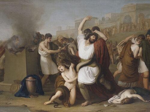 """Laocoonte"" di Francesco Hayez"