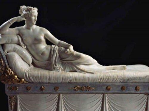 Paolina Bonaparte Borghese di Antonio Canova