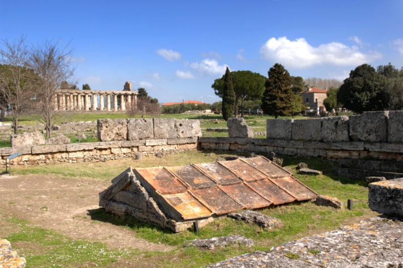 Il Sacello Ipogeico o Heroon – Parco Archeologico di Paestum