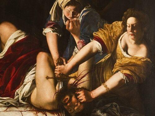"""""""Giuditta che decapita Oloferne"""" di Artemisia Gentileschi"""