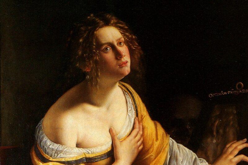 """""""La conversione della Maddalena"""" di Artemisia Gentileschi"""