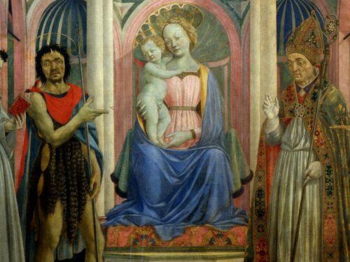 """""""Pala di Santa Lucia de' Magnoli"""" di Domenico Veneziano"""