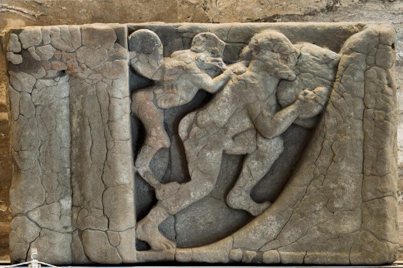 Le metope dell'Heraion del Sele – Museo Archeologico di Paestum